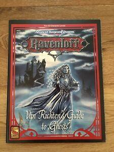AD&D 2nd Edition - Van Richten's Guide to Ghosts - Ravenloft
