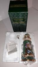 "Thomas Kinkade Lighted 2004 New 8"" Rock Of Salvation Porcelain Lighthouse"