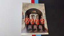 Sentries on the drawbridge , Old Fort Henry, Kingston, Ontario Postcard