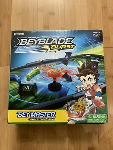 Beyblade Burst Bey Master Competition Arena Game for 1, 2 players 100% Complete