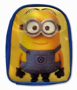 "Official Minions ""Roy"" Hologram Rucksack Backpack Bag"