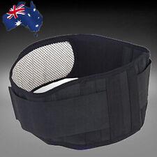 Tourmaline Magnetic Lumbar Lower Back Waist Support Strap Belt Brace Owais0101