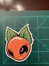Orange wheel Skate Skateboard Sticker Laptop Cell Phone Decal Cb
