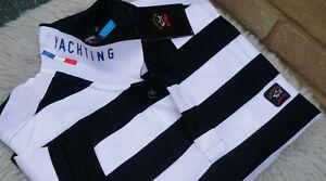 New Paul & Shark Yachting Polo Shirt White & Blue Size XXL, 3XL, 4XL Superb WOW!