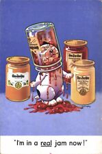More details for advertising poster. be-ze-be jam & honey. bonzo by studdy. i'm in a real jam now
