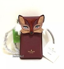 New Kate Spade Leather Fox Phone crossbody iPhone Foxy Bag 8ARU2815