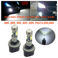 2PCS 880 890 892 893 899 7000k-7500k Xenon White 8 LED Fog Light Bulbs DRL Lamps