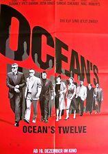 STEVEN SODERBERGH + OCEAN'S TWELVE + SET + 9 A1 + ROBERTS + PITT + DAMON + MAC +