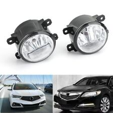 1Pair Fog Lights Lamp For Acura Honda TSX RDX TL ILX CR-V Pilot 2011-2015 New