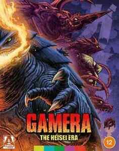 Gamera Heisei era Blu ray box set new & sealed Region B Arrow Video