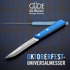 Güde Solinger Universal Oktoberfestmesser Kult 9900/10 weiß blau bayerisch