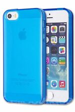 Apple iPhone 5 5S seguridad de nuevo caso cubierta de piel Delgado Goma De Silicona Gel TPU Blando