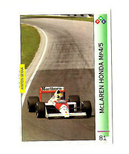 Ayrton Senna | McLaren Honda MP4/5 | 1989 Imola | F1 Card | PMC #81