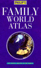 Philip's Family World Atlas by Octopus Publishing Group (Hardback, 1997)