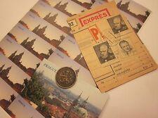 COINS PRAGUE COIN MAGNET STICKERS CZECHOSLOVAKIA CZECH REPUBLIC 25 ITEMS  #3