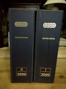 Quattroruote Year's Issues 2000 Completa With Box Magazine Automotive Auto