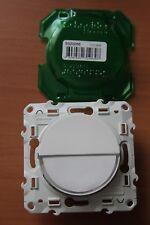 Poussoir Porte Étiquette Blanc Schneider Odace S520266