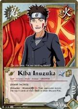 3x Kiba Inuzuka - N-1218 - Common Foil NM Naruto Weapons of War