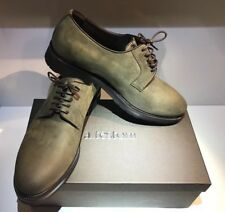 SALDI 30% TESTONI DERBY 6,5 41 scarpe uomo verde marrone man shoes