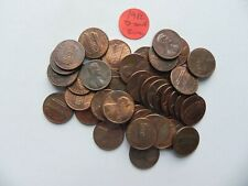 1982 D Small Date Zinc Lincoln Cent - One (1) coin from the coins pictured