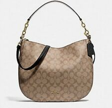 ★ COACH* Elle Signature Hobo Monogram Crossbody Bag IM/C F39527 ★