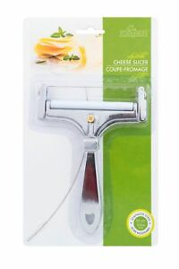 Fox Run Adjustable Cheese Slicer with 4 Inch Stainless Steel Replacement Wire