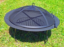 Outdoor Garden Steel Fire Pit 22''  Metal Bowl  Firepit Fireplace, Patio Heater