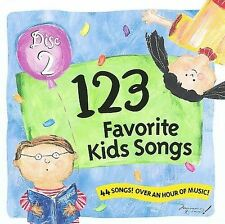 Audio CD 123 Favorite Kids Songs 2 - Various Artists - Free Shipping