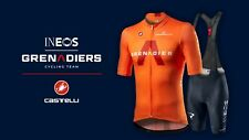 NEW Castelli COMPETIZIONE INEOS GRENADIERS Cycling Jersey and Bibshorts, L & XL