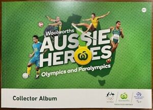 Woolworths Aussie Heroes Stickers Collectables Olympics Paralympics YOU CHOOSE!