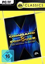10 x COMMAND & CONQUER IN ERSTEN 10 JAHRE EDITION * Top Zustand
