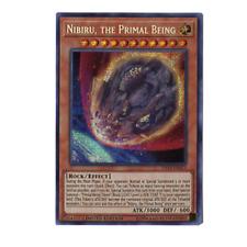 Nibiru, the Primal Being TN19-EN013 Prismatic Secret Rare Limited