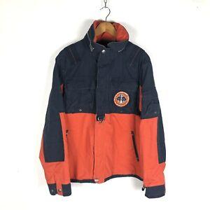 Polo Ralph Lauren Reconaissance Jacket Size L Orange / Navy Blue