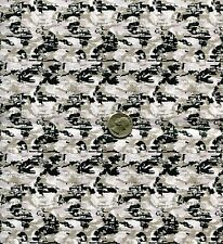 "1/6 Scale Children of Men COMPAT Camouflage Model Miniature Fabric 21""x18"""