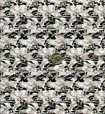 "1/6 Scale Children of Men COMPAT Camouflage Model Miniature Fabric 21""x18"""