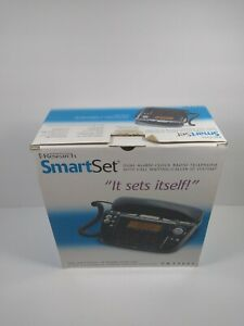 Emerson Research Dual Alarm Clock/Radio/Phone with Smart Set CKT9087 Caller ID