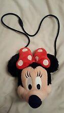 Parques de Disney Minnie Mouse Peluche Monedero Con Cierre