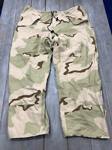 US Military Gore-Tex Extended Cold Weather Camouflage Trousers Pants XL