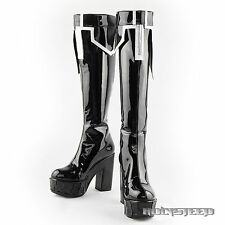 VOCALOID Black Rock Shooter Cosplay Shoes Boots(TV Animation version)