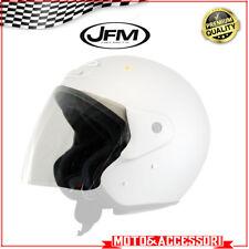 Visiera casco Jet JFM ZEUS 506 e Scotland Trasparente chiara Originale omologata