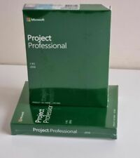 NEW Genuine Microsoft Project Professional Pro 2019 - Sealed, Retail Boxed