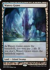 Tombe Aquatique PREMIUM / FOIL - Watery Grave - Zendikar Expeditions Magic Mtg
