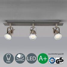 LED Decken-Leuchte Spot-Lampe Leiste Spotlights 3-flammig moderne Deckenstrahler