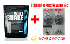 1 KG WHEY SHAKE PROTEINE IN POLVERE SELF GUSTO CACAO COCCO INTEGRATORE PALESTRA