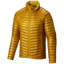 NEW Mountain Hardwear Ghost Whisperer 800 Down Jacket Mens XL INCA GOLD YELLOW