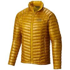 Mountain Hardwear Ghost Whisperer 800 Down Jacket Mens L LARGE INCA GOLD YELLOW