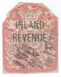 (I.B) QV Revenue : Inland Revenue 1/- (SG F53) broken type