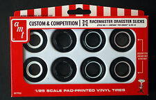 AMT 001 M + H Racemaster Dragster Slicks white wall, 1:25
