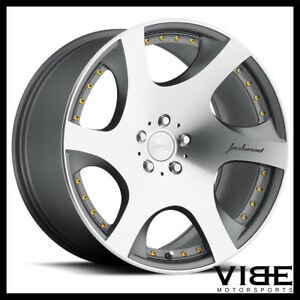 "19"" MRR VP3 GUNMETAL VIP CONCAVE WHEELS RIMS FITS INFINITI G35 COUPE"