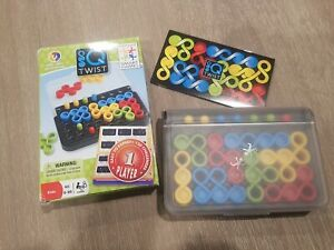 IQ Twist Puzzle Smart Games - Travel Game -Logic Puzzle 1 Player 120 Challenges!